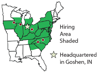 hiring area map